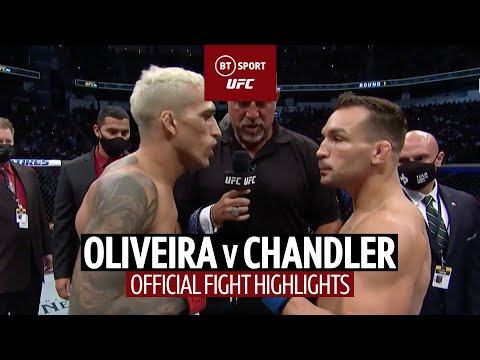 What a turnaround! Charles Oliveira v Michael Chandler | UFC 262 Fight Highlights