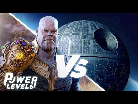 Thanos (Avengers) vs The Death Star (Star Wars)! | Power Levels