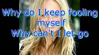 Maybe Emma Bunton with lyrics on screen fleursqueen
