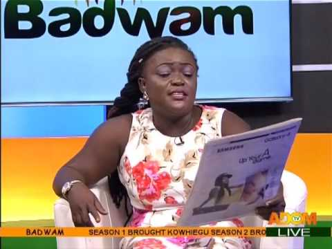 Badwam Newspaper Review on Adom TV (23-2-17)
