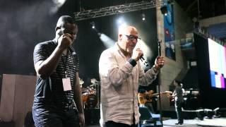 Paulo Gonzo em dueto com o angolano Matías Damásio