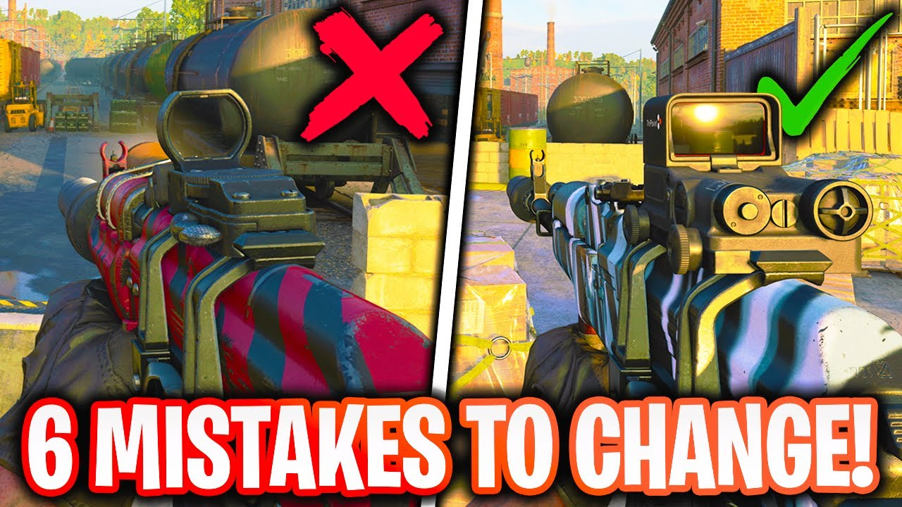 YankeeYT - 6 MISTAKES You're Making and MUST CHANGE NOW in Black Ops Cold War (BOCW Best Tips to Improve)