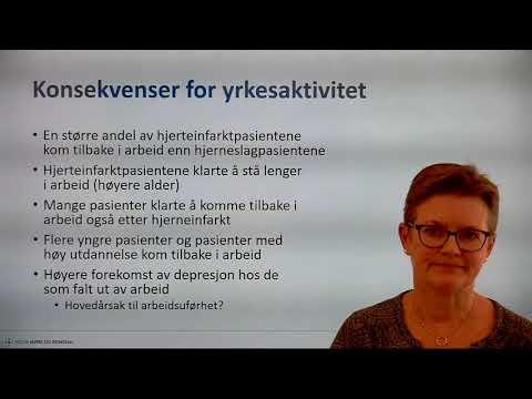 Forskingsdagane 2020: Åse Morsund  om forsking på hjerneslag