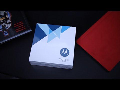 Moto X Pure Edition فتح علبة وانطباع اولي عن جهاز
