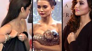 Bollywood HOT actresses ADJUSTING DRESS | Uncut Video width=