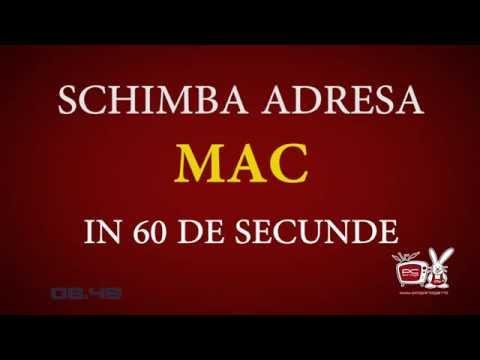 Cum schimbi adresa MAC