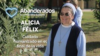 Alicia Félix - Abanderada de la Argentina Solidaria 2016