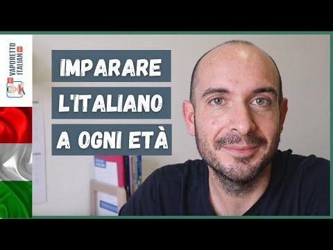 Come imparare l'italiano a ogni età   Imparare l'italiano da adulti