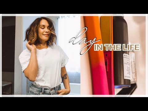 DAY IN THE LIFE | how i do my hair, train park, new recipe