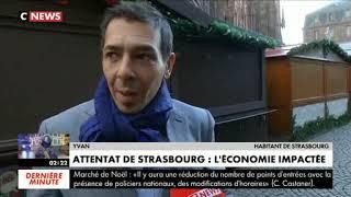 Attentat de Strasbourg : l'économie impactée