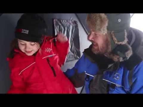2015 #takeitoutside Ice Fishing Video   Sportsman's Warehouse