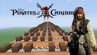 "Pirates Of The Caribbean ""He's A Pirate"" - Minecraft Xbox ""NoteBlock Song"""