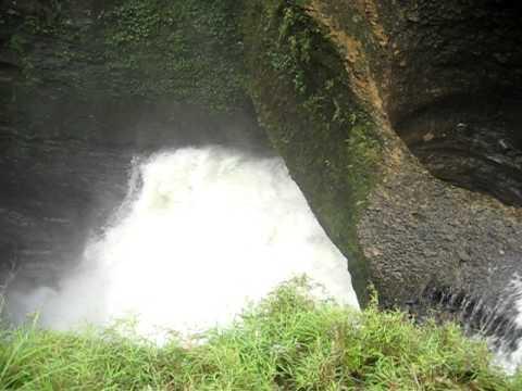 Waterfall in Pokhara