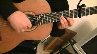 Coldplay Paradise Classical Guitar Cover