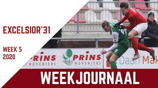 Screenshot van video Excelsior'31 weekjournaal - week 5 (2020)