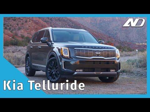 Kia Telluride - Más grande que Sorento, más cúbica que Soul - Primer Vistazo
