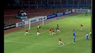 Indonesia Vs Laos (6 0) AFF Suzuki Cup 2010