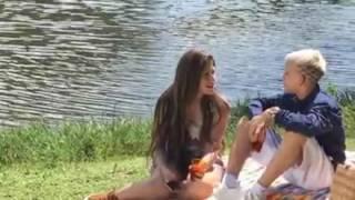 Mc pedrinho e sua namorada gravando vidio clip novo
