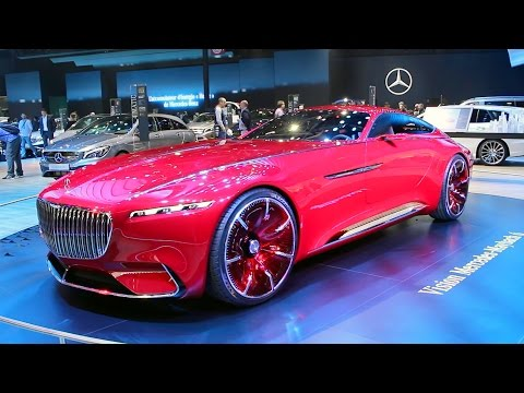 Vision MERCEDES-MAYBACH 6 at the 2016 Paris Motor Show