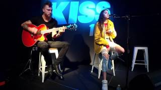 Maggie Lindemann - Knocking on Your Heart (acoustic) - At Kiss 107