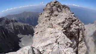 "Reaching the ""Throne of Zeus"" -  Stefani at Mount Olympus (+2909m)"
