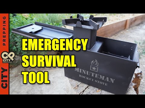 Top 5 reasons you should get a rocket stove now (minuteman review)