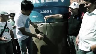 Juliano Son em Tanque de Cima | Projeto Mais Água - transformação da água suja em limpa