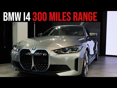 2022 BMW i4 - FIRST Look | Exterior, Interior, Power, Battery Range | 4K