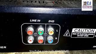 super bass HIFI STEREO AMPLIFIER (Hindi)