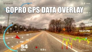 How to add gps data gauges to gopro hero 5 videos / InfiniTube