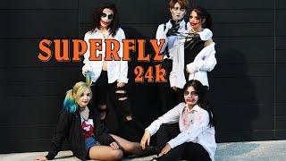 "BORN EATER - 24K ""Superfly"" Dance Cover Halloween Ver."