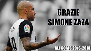 Grazie Simone Zaza | All Goals for Valencia (Tribute)