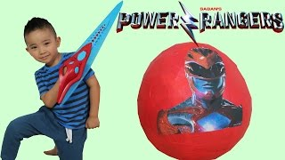Chosen Power Rangers and First Morphs | Mighty Morphin Power Rangers - Super Ninja Steel and Movie width=