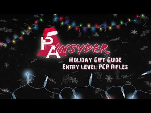 Video: 2017 Entry-level PCP Airgun Gift Buying Guide   Pyramyd Air