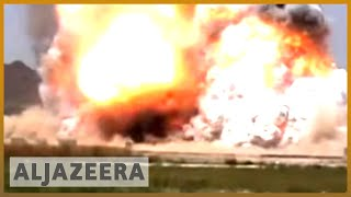 Exclusive footage shows taliban attack in afghanistan