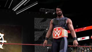 "wwe 2k17 - Seth Rollins Unused Theme Song || ""Redesign Rebuild Reclaim"""