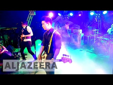 Asian-American band 'The Slants' fights to register name