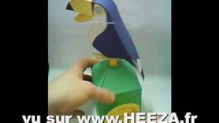 Mechanical Toy : TOUCAN TANGO