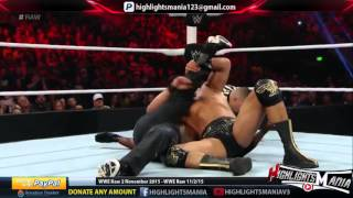 WWE Raw 2 November 2015 Highlights width=