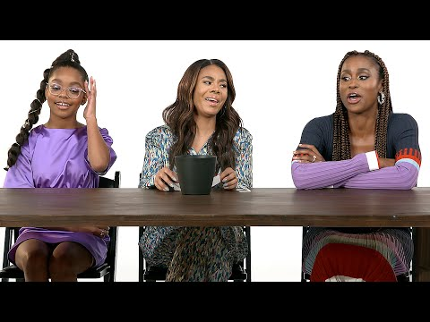 "Issa Rae, Regina Hall, and Marsai Martin From ""Little"" Give Advice To Women"