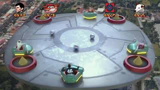 Crash Bandicoot in real life [Crash Bash Sky balls level Remastered]