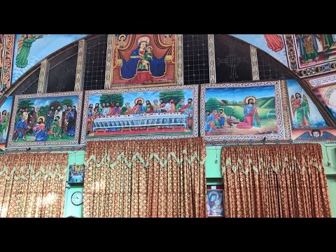 A Peek Inside an Ethiopian Orthodox Church