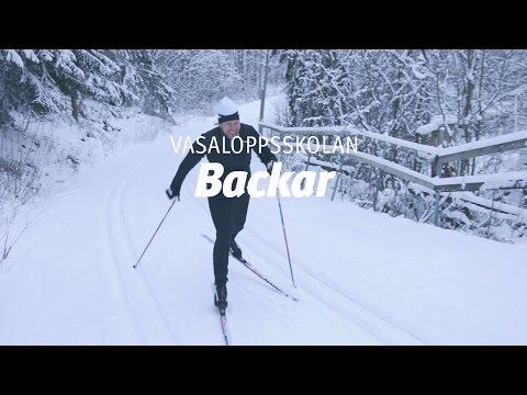 Vasaloppsskolan – Backar (Träna på snö del 3 av 4)