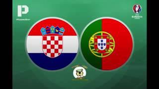 Grande relato antena 1 no golo quaresma  contra Croácia