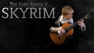 The Elder Scrolls V: Skyrim - Secunda (Acoustic Classical Guitar Cover by Jonas Lefvert)