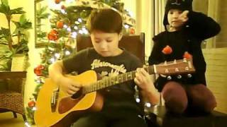 My first song I learned - silent night - christmas for 2010