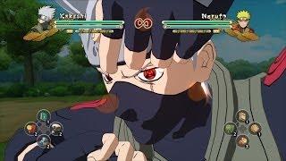Naruto Storm 3 Kakashi double Magenkyou sharingan