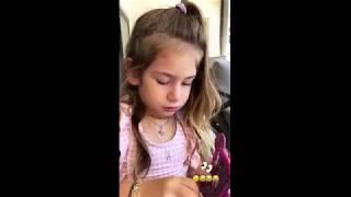 Şeyma Subaşı'nın Kızı Sinirlendi İki Dil Birden Konuştu !!!