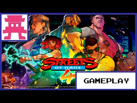 Streets of Rage 4. GamePlay Fase 2
