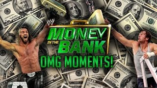 The Best OMG! Moments In WWE Money In The Bank History / Los Mejores Momentos OMG! En  MITB width=